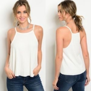 Ribbed Knit Super Soft Tank Top